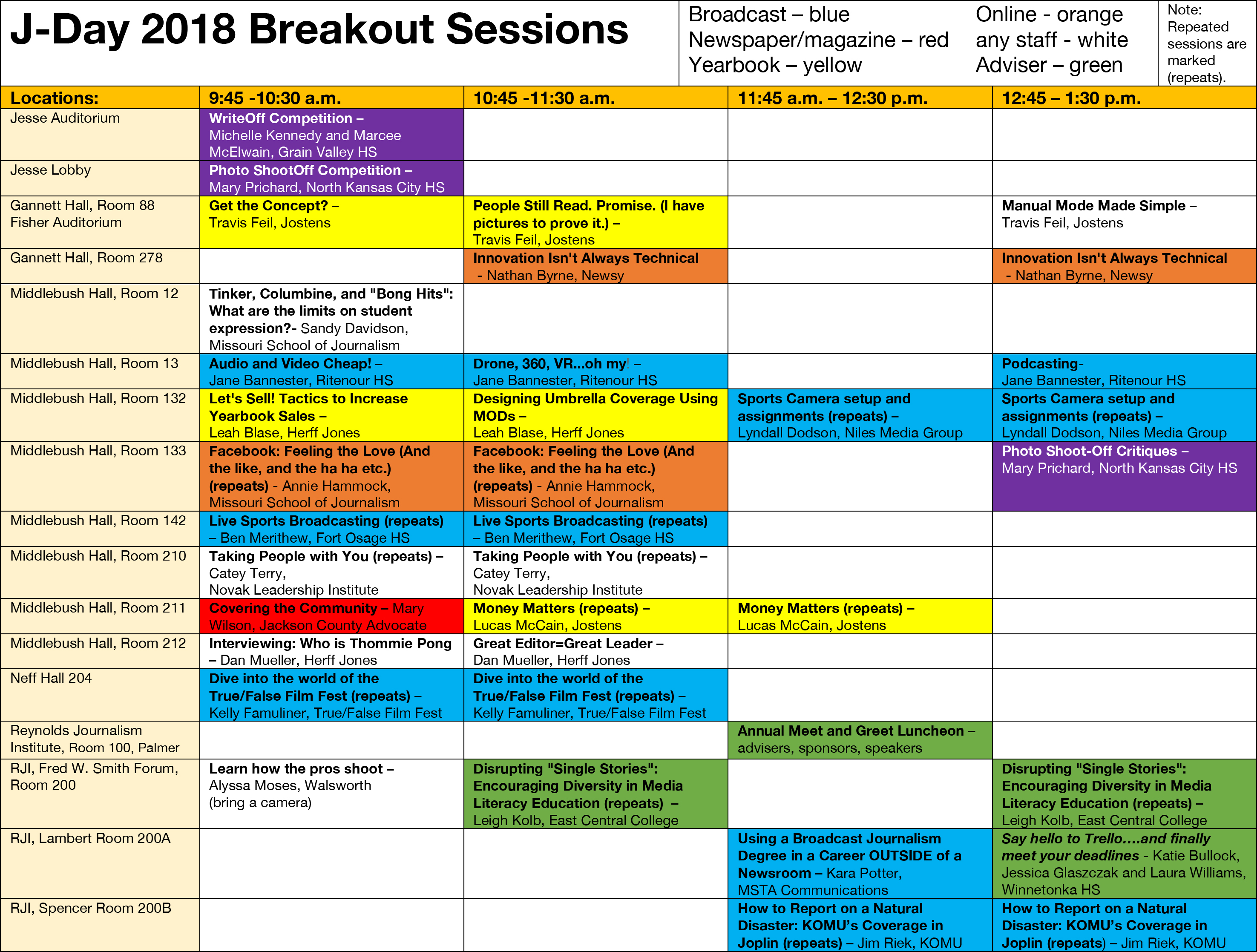 4bd8ea4976a Keynote and speaker schedule for J-Day 2018 announced – Missouri ...