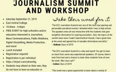 Journalism Summit and Workshop runs next month