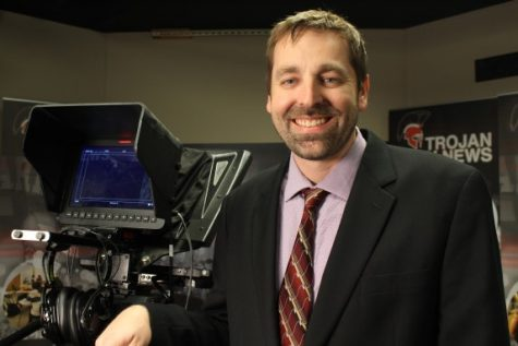 Broadcast adviser Justin Ford, Park Hill and Park Hill South high schools, earned the 2020 Journalism Teacher of the Year honor.