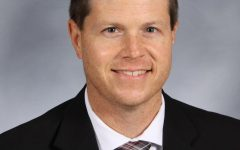 David Kelly, Ed.D., principal of Nixa High School, earns the MIPA Administrator of the Year Award for 2021.