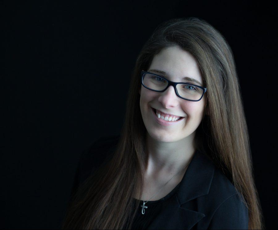 Leigh Rogers, Hermann High School, was chosen as the 2019 Emerging Journalism Educator.